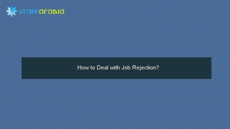 How to Deal with Job Rejection?