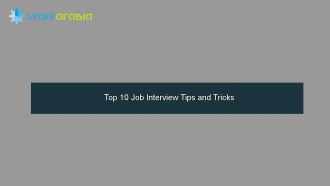 Top 10 Job Interview Tips and Tricks